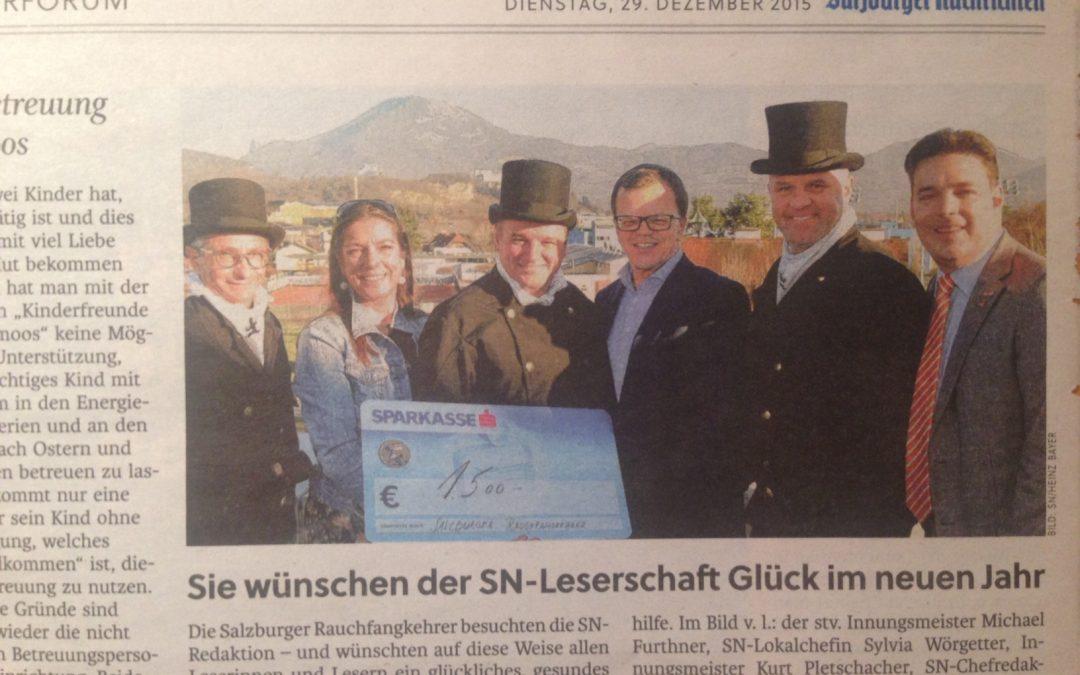 Salzburger Nachrichten 29.12.2015