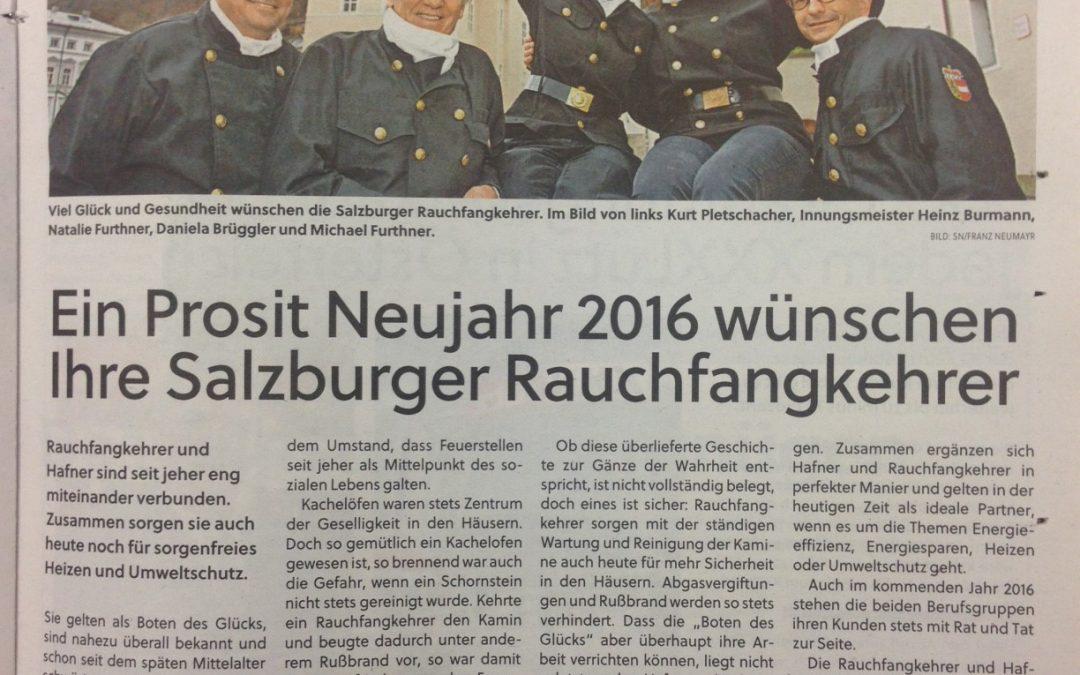 Salzburger Nachrichten 31.12.2015